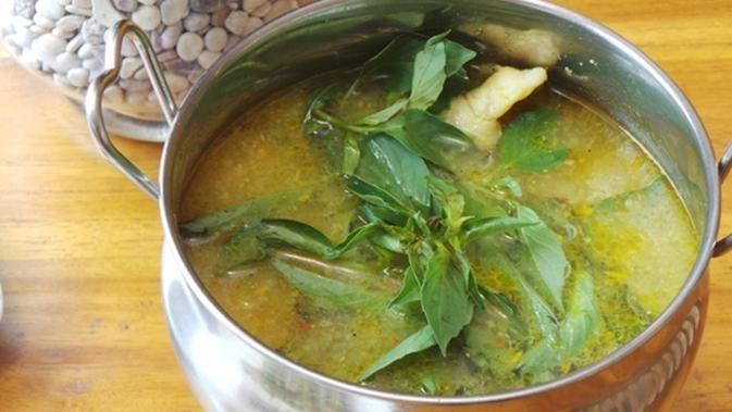 Resep Ikan Dori Kuah Kuning Papua Kedai Nyonya Bintuni Resep Ikan Resep Makan Siang
