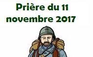 PRIÈRE UNIVERSELLE POUR LE 11 NOVEMBRE