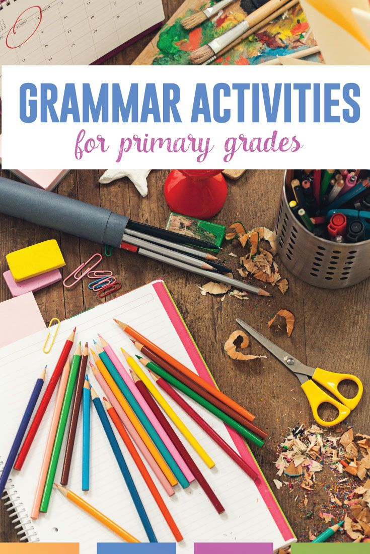 Elementary Grammar Lessons | Elementary Lesson Plans