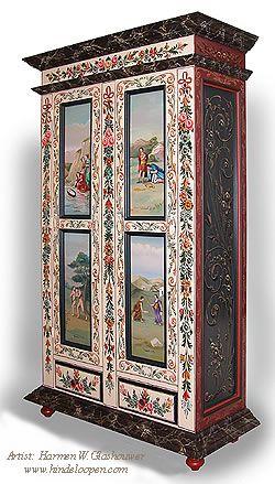 dutch hinderlopen | ... Glashouwer's work, please visit his website at www.hindeloopen.com