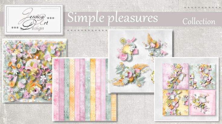 Simple pleasures collection by Jessica art-design
