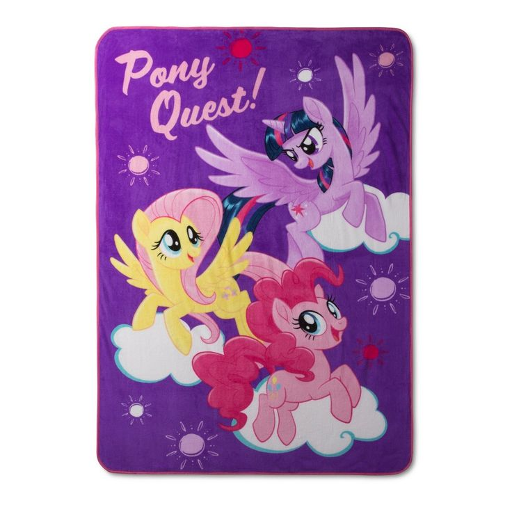 My Little Pony Bed Blankets (Twin)
