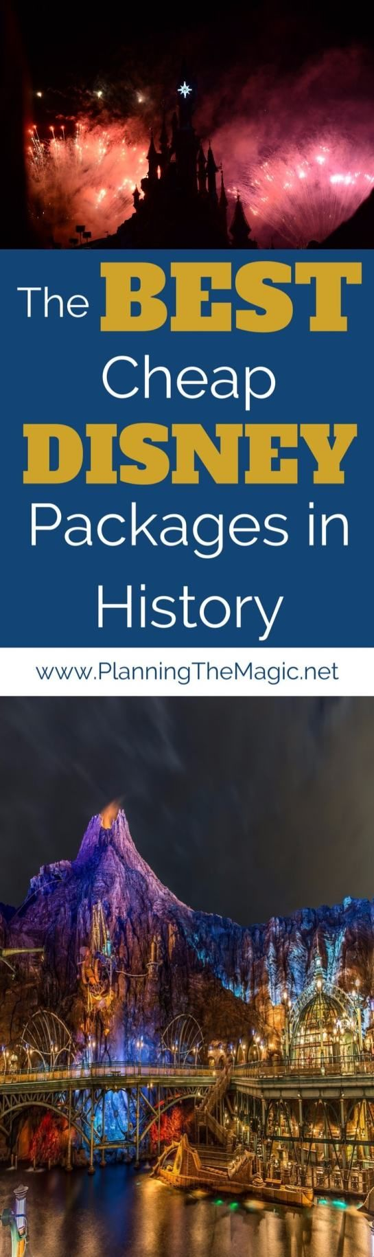 The Best Cheap Disney Packages in History | If you're looking for the BEST Cheap Disney Packages than you're in the right place. Stop reading and take action with these tips!  More information at www.PlanningTheMagic.net