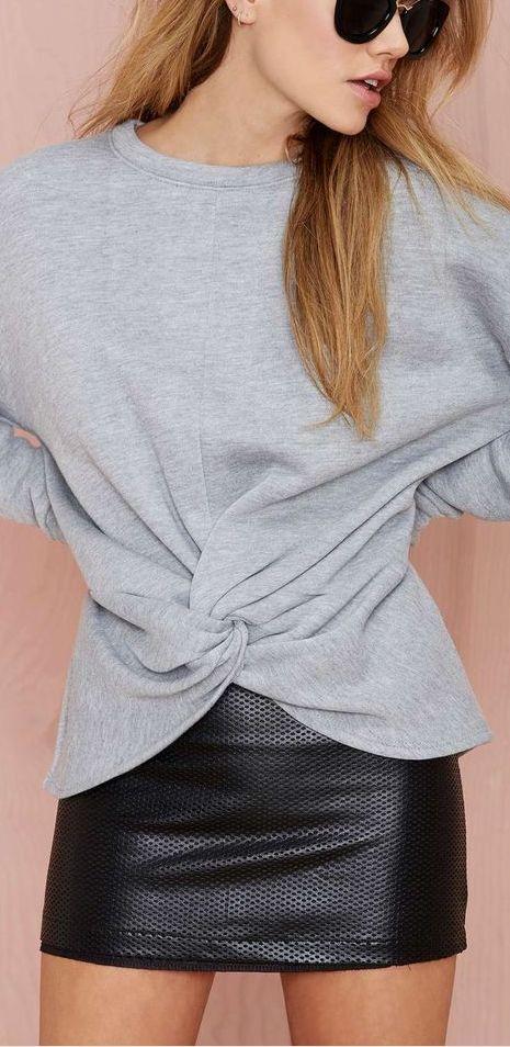 knot sweatshirt