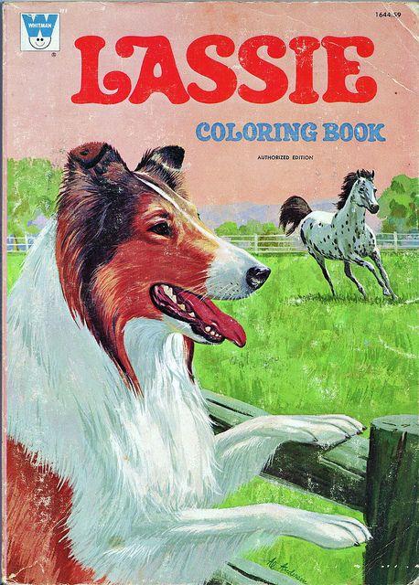 Lassie Coloring Book