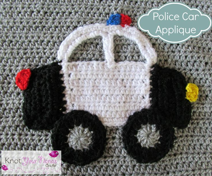 Ravelry: Police Car Applique by Teri Heathcote