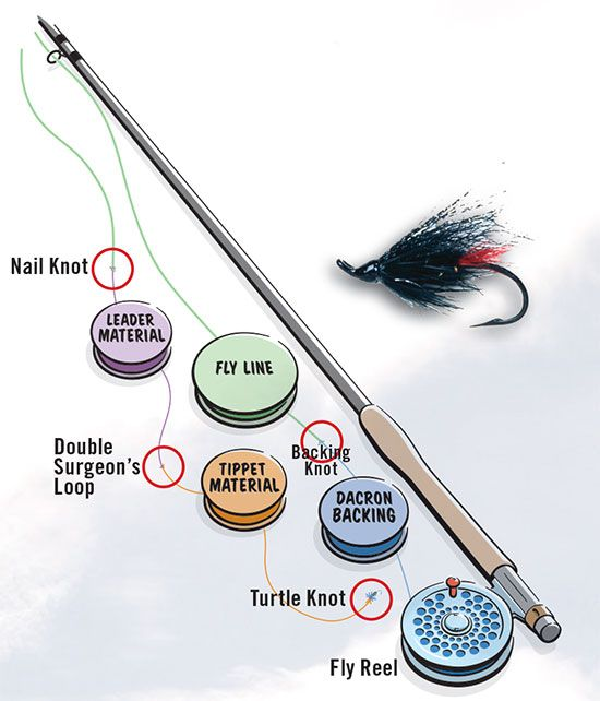 362 best images about flies knots on pinterest for Common fishing knots