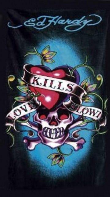 Love Kills Slowly by Ed Hardy