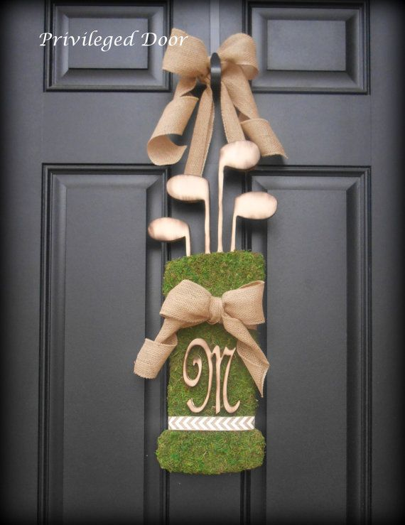 Custom Vintage Moss Golf Bag - A Privileged Door Exclusive.  Welcome to my shop, its a great pleasure to welcome you here today! Looking for a