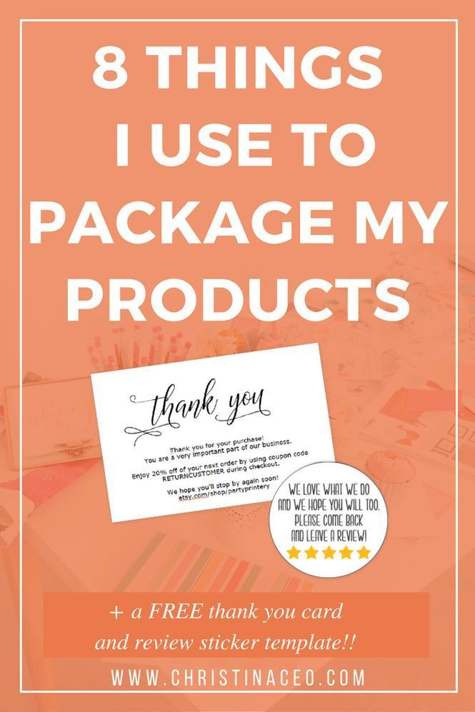 192 best diy business images on pinterest craft business etsy and 8 things i use to package and ship products fandeluxe Choice Image