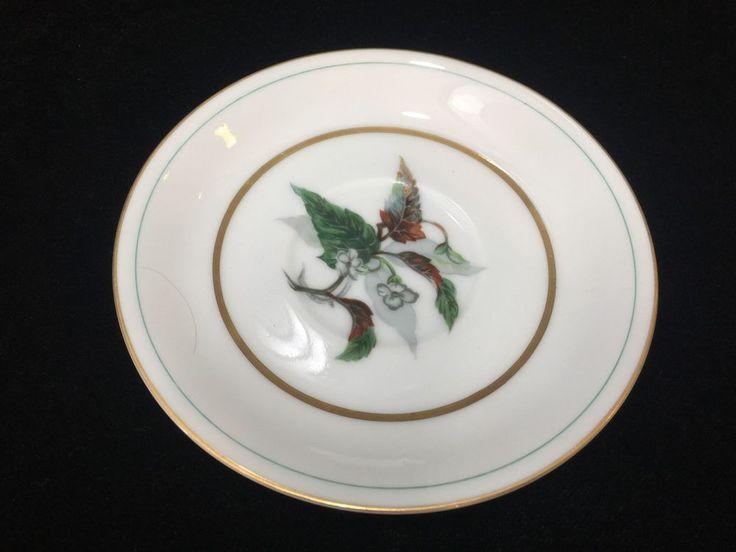 Vintage Imperial Craftsman Japan Porcelain China Begonia Flower Saucer Only #ImperialCraftsman