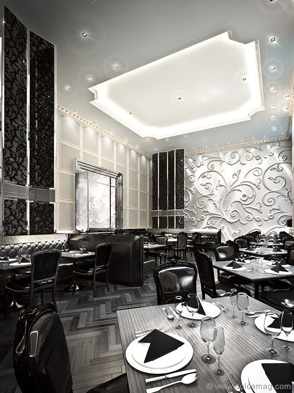 Restaurants Feature Wall Designs: Stock Restaurant Feature Wall