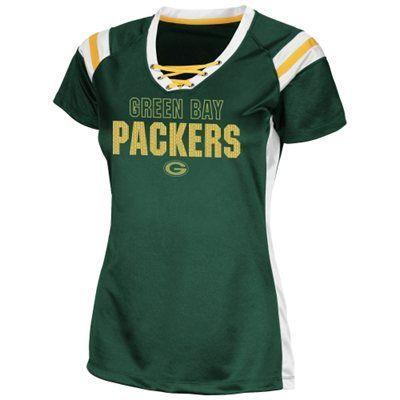 Green Bay Packers Ladies Draft Me VI Fashion T-Shirt - Green