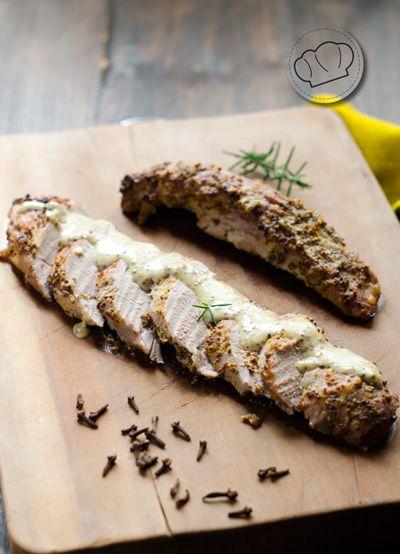 Una idea sencillisima para aprovechar unos solomillos o cualquier pieza de carne que pueda quedar bien jugosa. Asado simple y comida deliciosa.