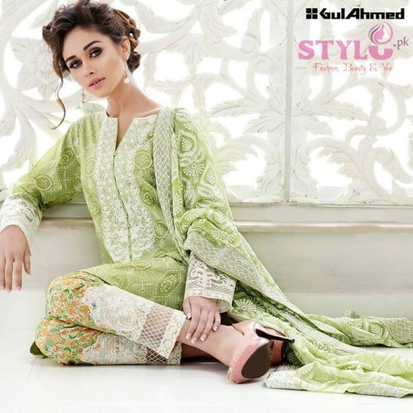 Gul Ahmed Summer Collection 2016 - Perfect Blend of Prints   Style.Pk