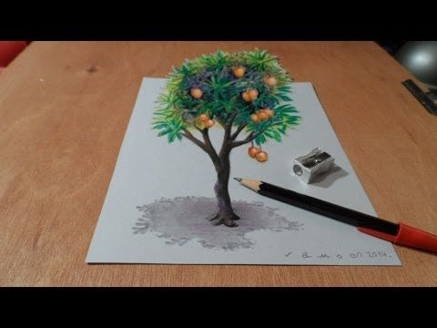 how to draw 3d art for kids