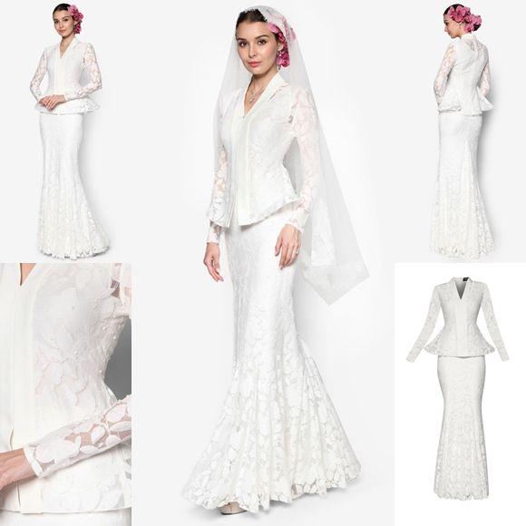 Baju Pengantin Terkini 2016 2017 Rizalman Bridalwear Hydrangea Flare Kebaya