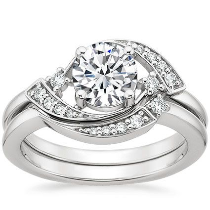The Iris Diamond Matched Set #BrilliantEarth