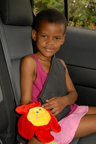 Angela modelling the Secure A Kid Safety Harness for the car. Casted by agency Caitlins Castings (www.caitlinscasting.co.za) and photo taken...