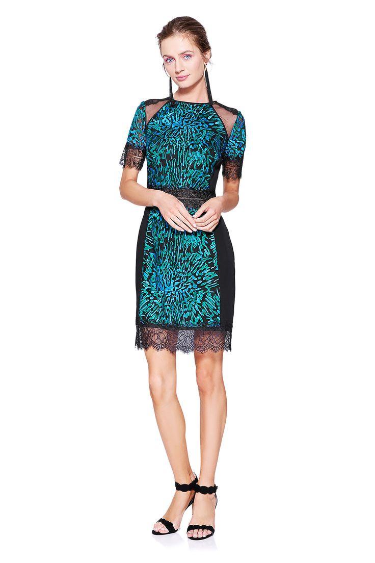 AVU17141M Sukienka wieczorowa #runway #dress #fashion #tadashishoji