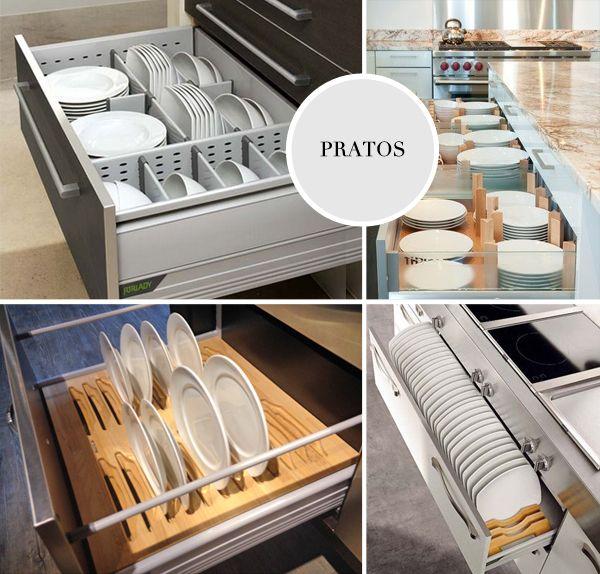 1000+ ideias sobre Organizador De Gavetas Cozinha no Pinterest ...