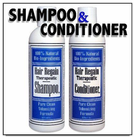 Regain Hair Loss Shampoo and Volumizing Conditioner Combo - 4 Month Supply *** See this great product.