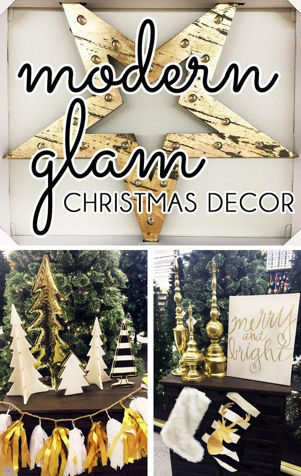 I\u0027m dreaming of a gold and white Christmas! On a recent shopping