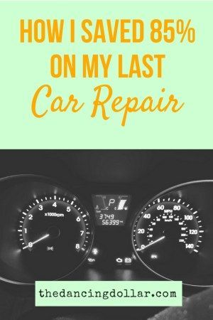 Spending Too Much On Auto Repairs? Here's How I Saved 85% On My Last