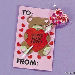 romantica tarjeta hecha a mano