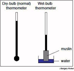 dry-bulb temperature