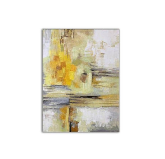Large Modern Art Minimal Painting Minimalist Art Dinning