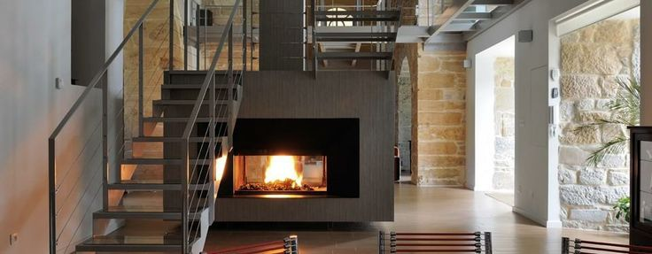 87 best images about cheminee on Pinterest  Modern fireplaces, Fireplaces an