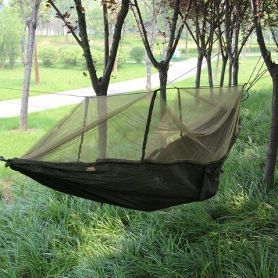 Casual Outdoor Camping Hammock with Mosquito Net 150kg Load Bearing-34.30 and Free Shipping| GearBest.com