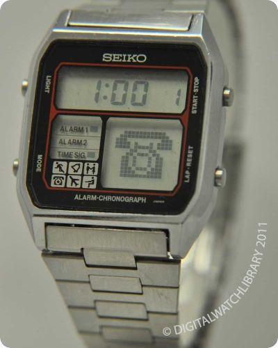 SEIKO - D138-4000 - Digital - Vintage Digital Watch - Digital-Watch.com