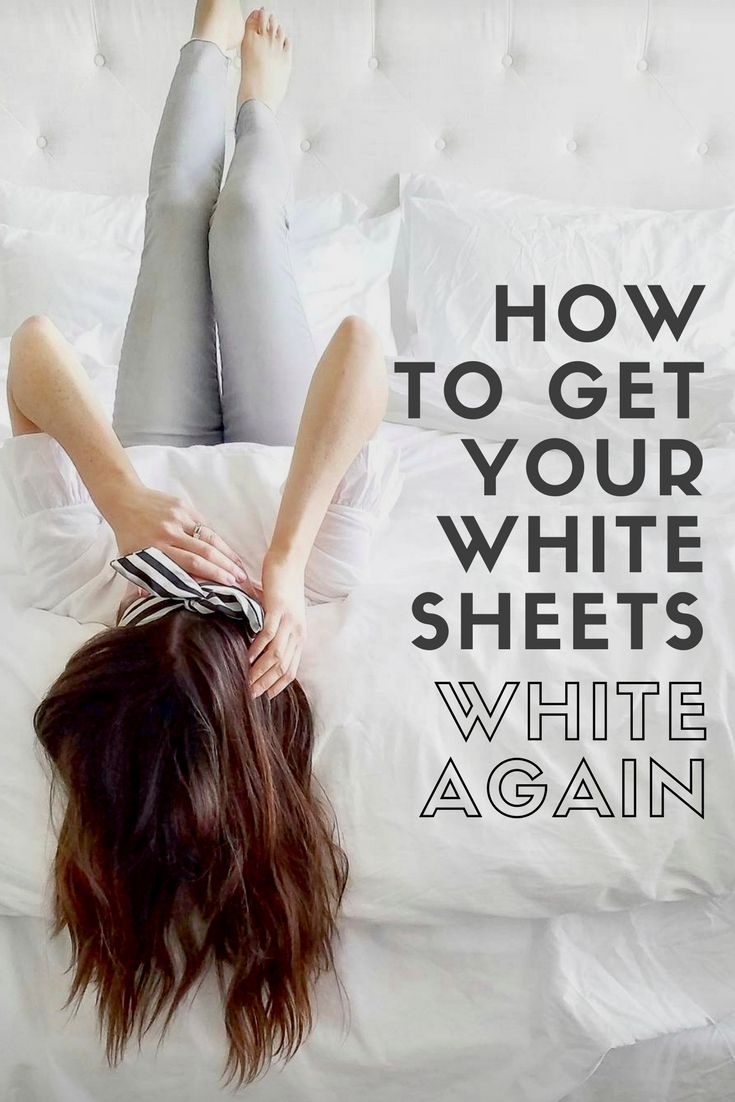 How To Get Your White Sheets Again Master Bedroom Cleaning Ideas Tips Life With Katieblythe