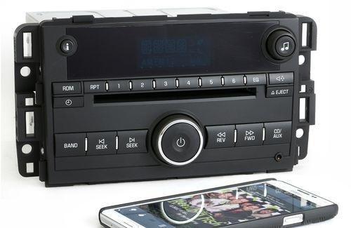 Chevy 2009-2013 Impala AM FM CD Player Radio w Bluetooth Music 20756283 UNLOCKED