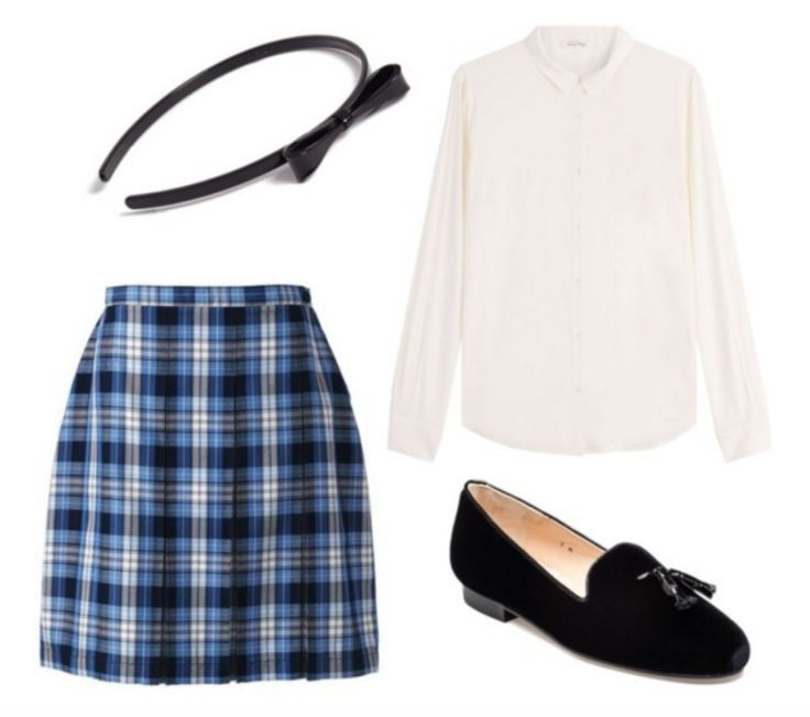 What your first day of school outfit reveals about you – School outfits polyvore preppy