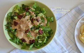 Σάλτσα – άλειμμα με ταχίνι: για σαλάτες, για πατάτες, για λαγάνες (και όχι μόνο) – Κρήτη: Γαστρονομικός Περίπλους