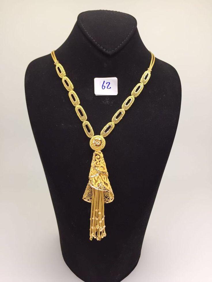 Www Igooold Com طقم ذهب كويتي عيار 21 In 2021 Gold Earrings Designs Gold Necklace Designs Jewellry Necklace