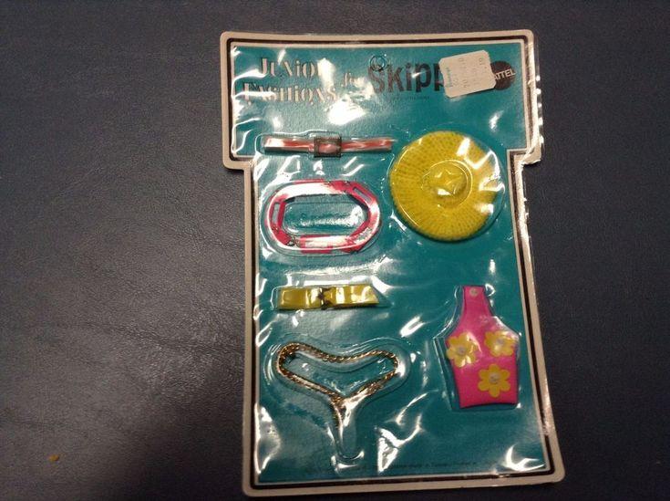 Vintage Official Mattel Barbie Skipper accessories UNOPENED 1969  #Mattel