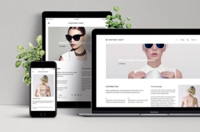 This is an elegant psd screen web showcase with a desktop, tablet and mobile devices to display your designs. We added...