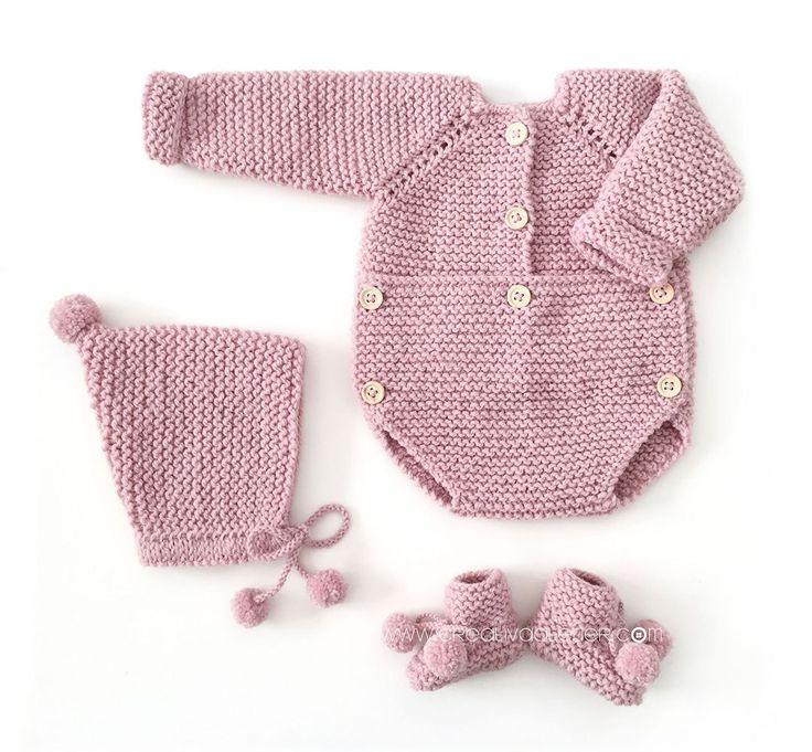 Capota de lana de bebé – Tutorial y Patrón –