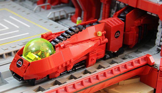 M:Tron Monorail II #LEGO #space