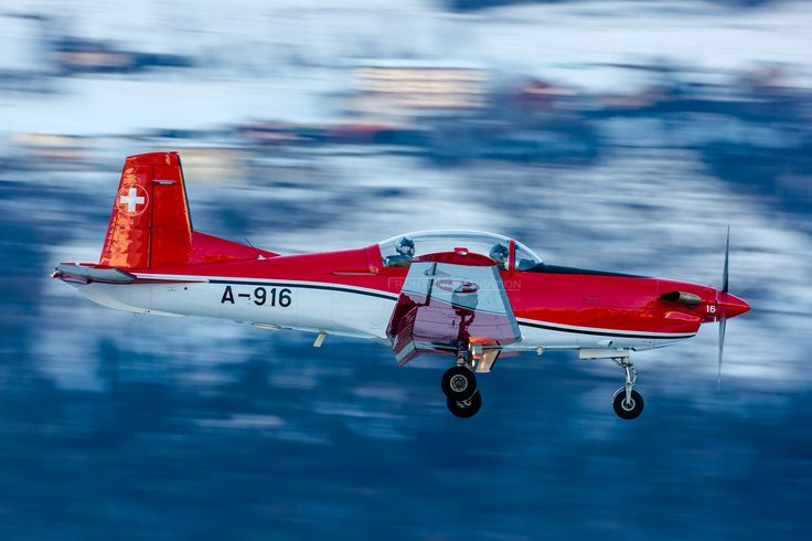 https://flic.kr/p/S1tLxt | Pilatus PC-9, A-916, Swiss Air Force | Sion, Canton of Valais, Switzerland