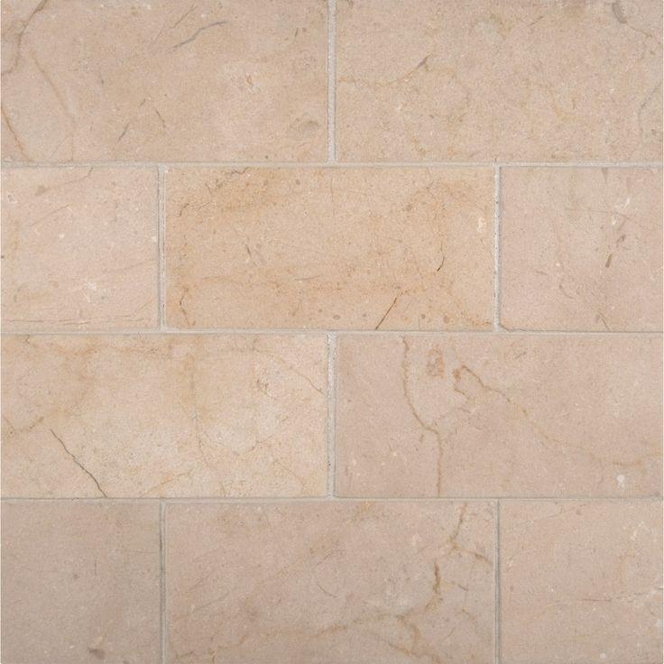 Marble 3x6 Polished Crema Marfil