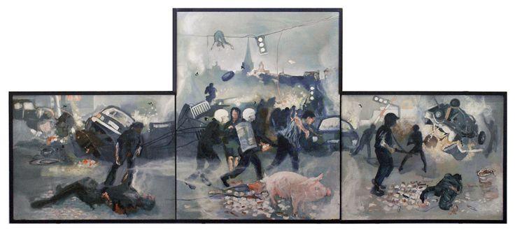 Holger Hattesen: Triptychon (1980s)