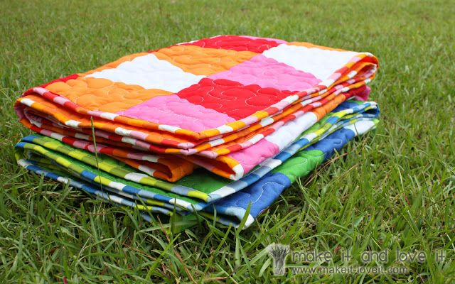 Piecing and Binding a Quilt | Make It and Love It