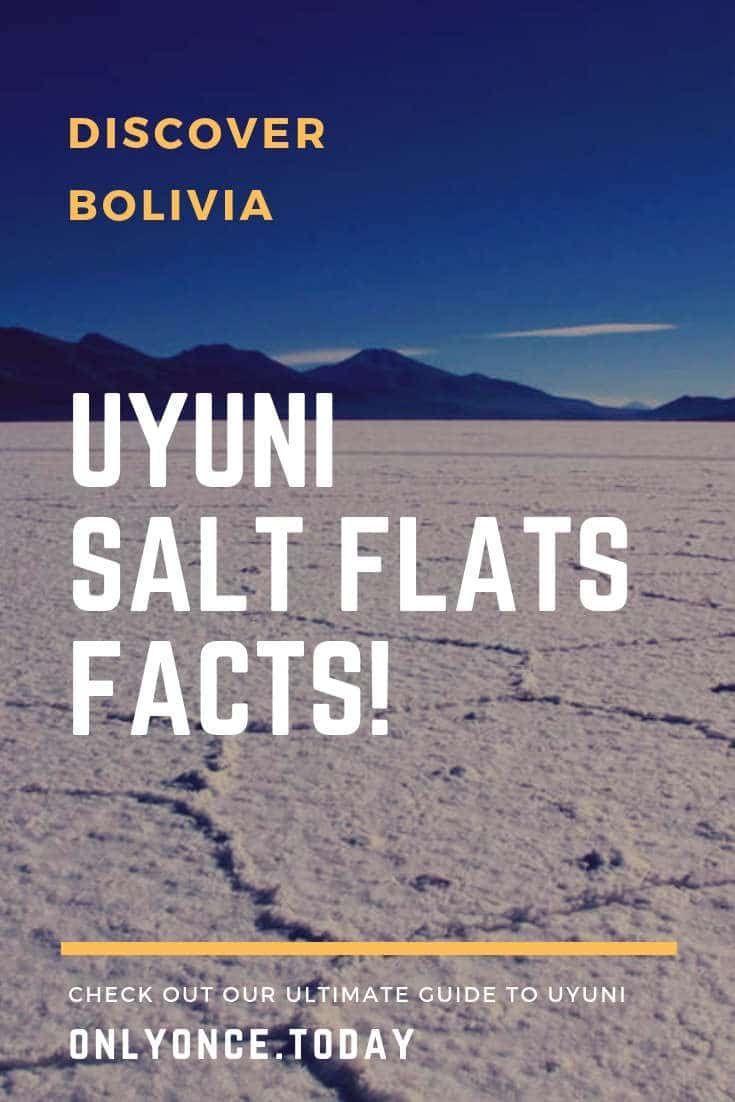 Salar De Uyuni Facts Interesting Facts About The Bolivian Salt Flats Bolivia Travel Bolivian Salt Flats Lake Titicaca Peru