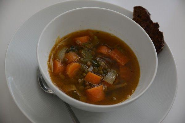 Italiensk soppa med parmesan!
