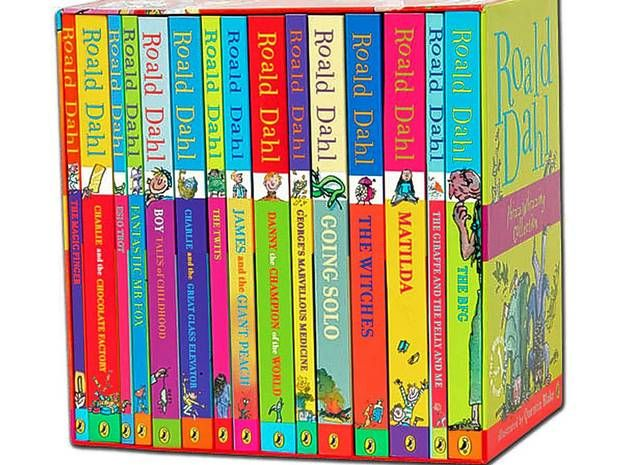 6. Roald Dahl Collection £15.99, thebookpeople.co.uk The coloured jackets in this marvellous 15-book collection are all adorned with Quent...